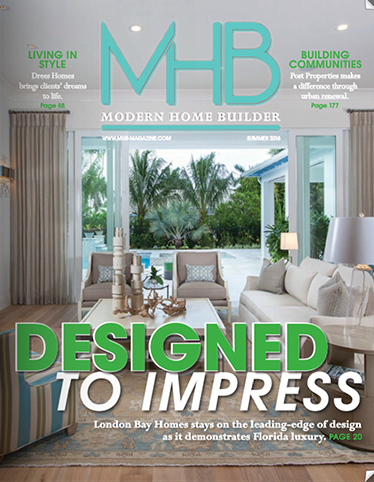 Modern Home Builder Magazine Cover